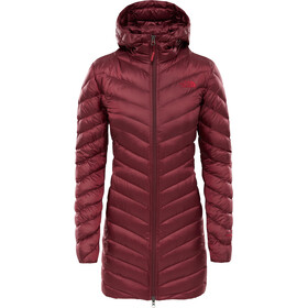 The North Face Trevail Jacket Women red